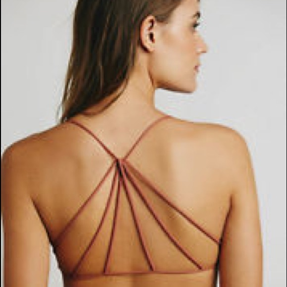 02e15a972b398 Free People Other - FP Terracotta Strappy Bralette